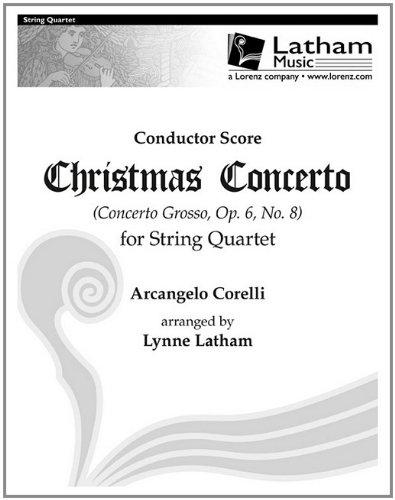 9781429121491: Christmas Concerto for String Quartet - Score: Concerto Grosso, Op. 6, No. 8