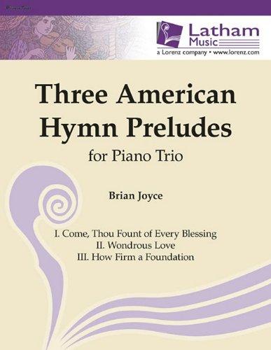 9781429122191: Three American Hymn Preludes for Piano Trio