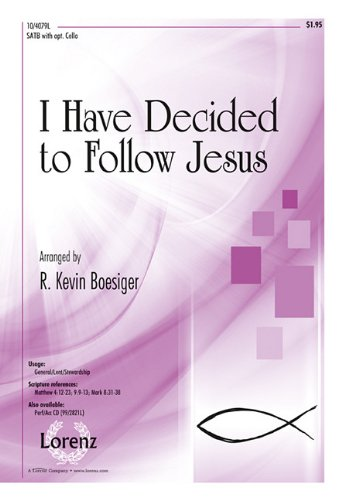 9781429123013: I Have Decided to Follow Jesus