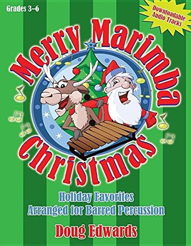 9781429126052: Merry Marimba Christmas: Holiday Favorites Arranged for Barred Percussion