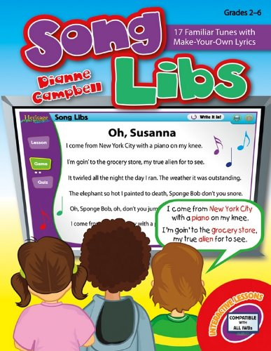 9781429127073: Song Libs: 17 Familiar Tunes with Make-Your-Own Lyrics