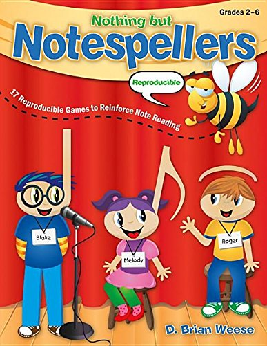 9781429127776: Nothing But Notespellers: 17 Reproducible Games to Reinforce Note Reading