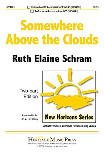 9781429131483: Somewhere Above the Clouds (Educational Octavo, Two-part, Piano)