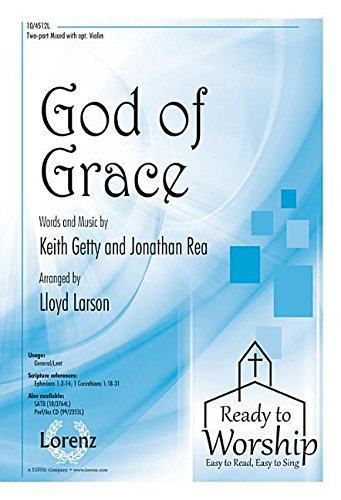 9781429136129: God of Grace (Sacred Anthem, Two-part mixed, Piano)