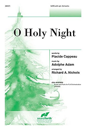 9781429136778: O Holy Night (Sacred Anthem, SATB, Piano)