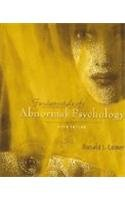 Comer Ronald Fundamentals Abnormal Psychology Study Guide Abebooks