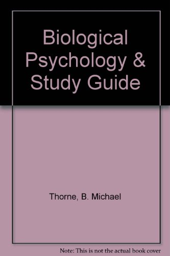 9781429200073: Biological Psychology & Study Guide