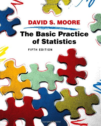 9781429201216: Basic Practice of Statistics, 5th Edition