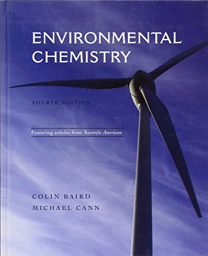 Environmental Chemistry: Colin Baird, Michael