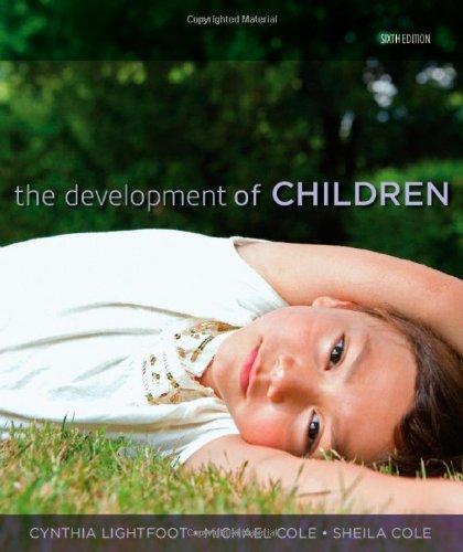 9781429202251: The Development of Children