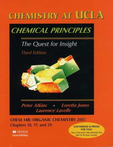 9781429204385: Chemistry At Ucla Chemical Principles the Quest for Insight Third Edition