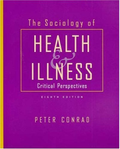 9781429205580: The Sociology of Health and Illness