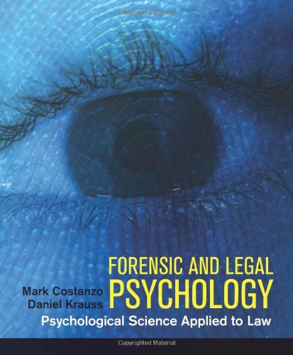 9781429205788: Forensic and Legal Psychology