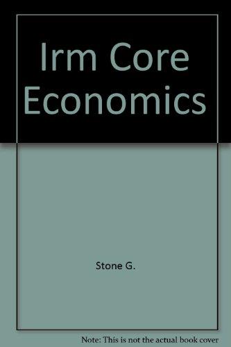 Irm Core Economics: Stone G.