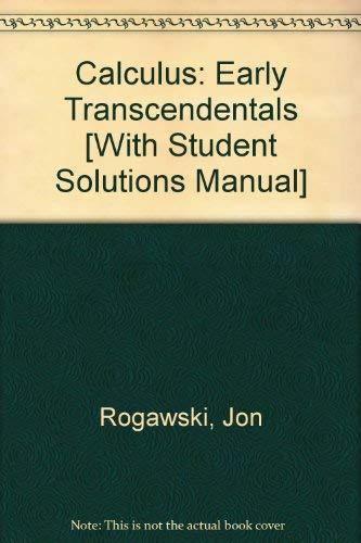 Jon Rogawski calculus Early Transcendentals 2nd Edition