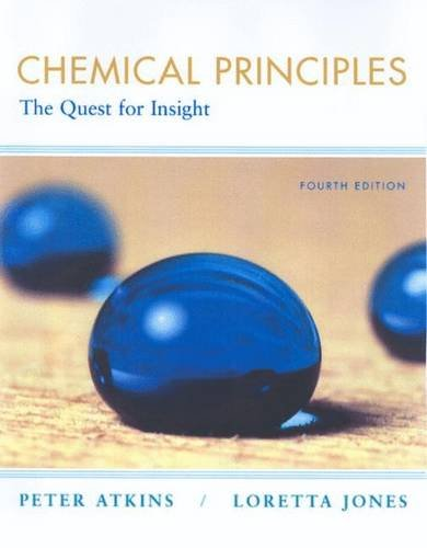 9781429209854: Chemical Principles, Corrected (ISE): The Quest for Insight