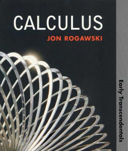 9781429210744: Calculus: Early Transcendentals (Paper)