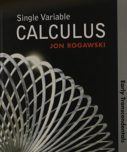 Single Variable Calculus Early Transcendentals (HS Version) - Rogawski, Jon