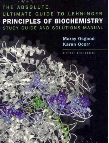 9781429212410: Absolute Ultimate Guide for Lehninger Principles of Biochemistry
