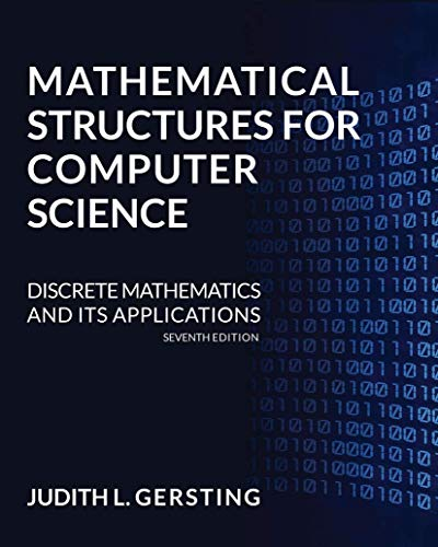 9781429215107: Mathematical Structures for Computer Science