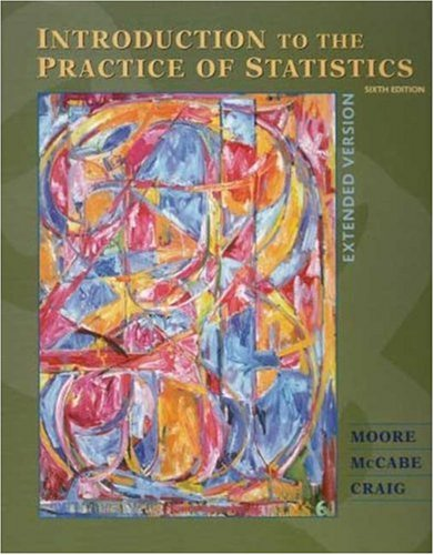 Introduction to the Practice of Statistics w/CD: David S. Moore,