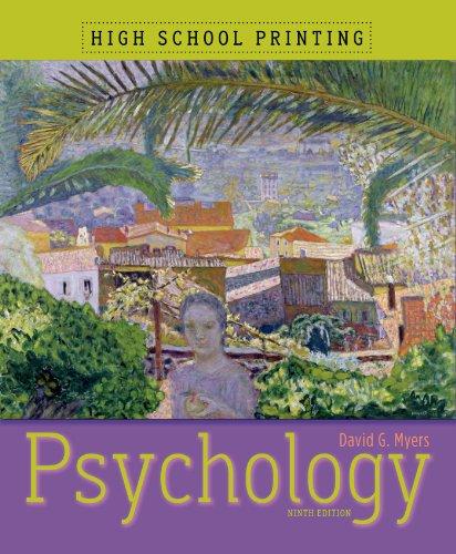 9781429216371: Psychology (High School Printing)
