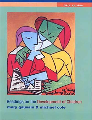 9781429216494: Readings on the Development of Children