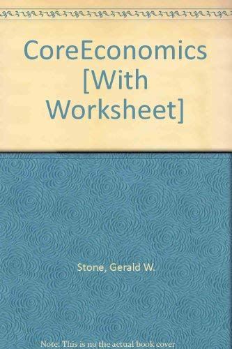 CoreEconomics, CourseTutor & Online Study Center: Gerald Stone