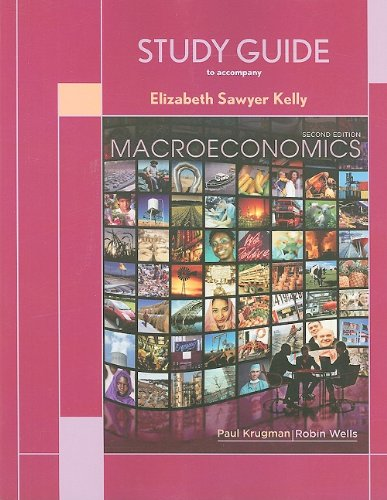 9781429217552: Study Guide for Macroeconomics