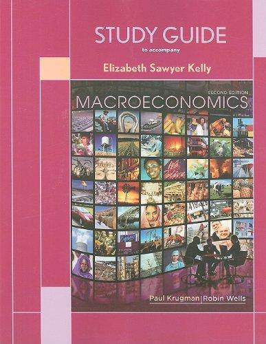 9781429217552: Study Guide for Macroeconomics