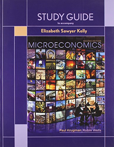 9781429217569: Study Guide to Accompany Microeconomics