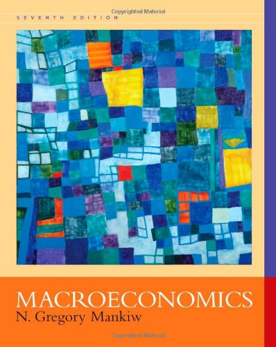 Macroeconomics (1429218878) by Mankiw, N. Gregory