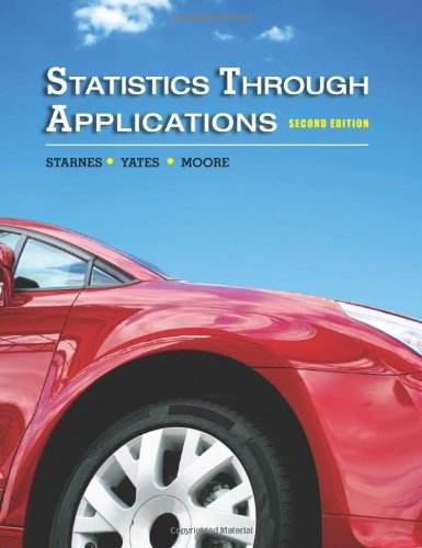 9781429219747: Statistics Through Applications