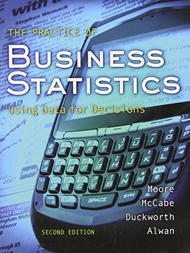 9781429221504: The Practice of Business Statistics: Using Data for Decisions (Book & CD)