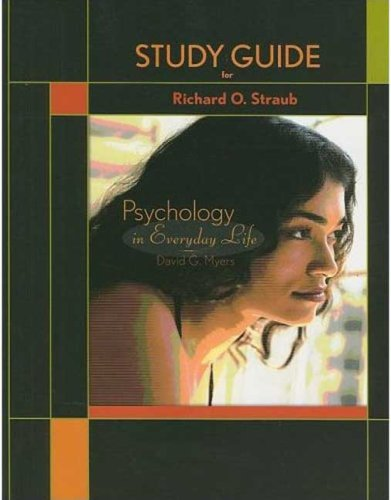 9781429222112: Study Guide for Psychology in Everyday Life