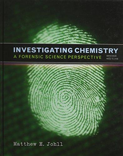 Investigating Chemistry & Lab Manual: Johll, Matthew; Collins, David