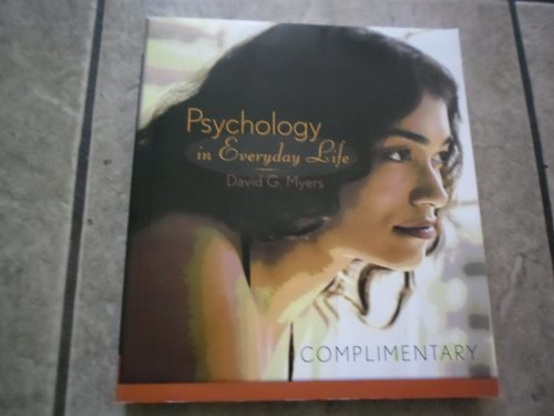 9781429223096: Psychology in Everyday Life