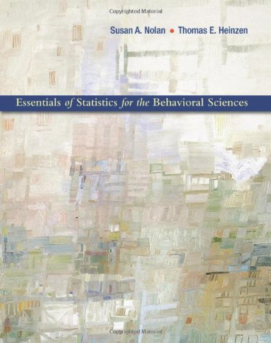 9781429223263: Essentials of Statistics for the Behavioral Sciences