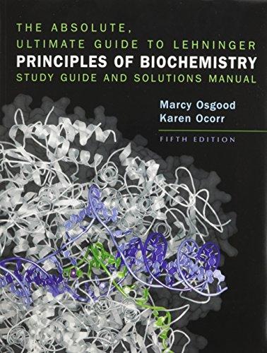 9781429223447: Lehninger Principles of Biochemistry  Absolute Ultimate Guide & eBook