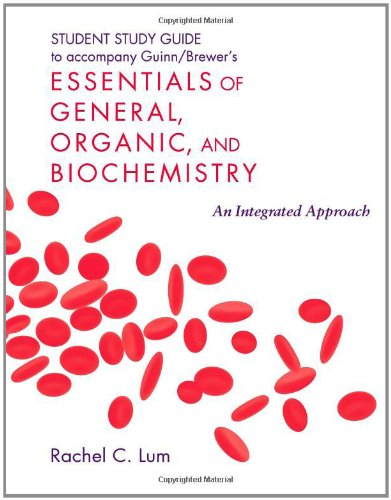 9781429224321: Student Study Guide/Solutions Manual for Essentials of General, Organic, and Biochemistry