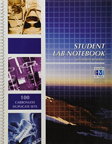 9781429224543: Student Lab Notebook: 100 Carbonless Duplicate Sets