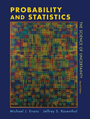 9781429224628: Probability and Statistics: The Science of Uncertainty
