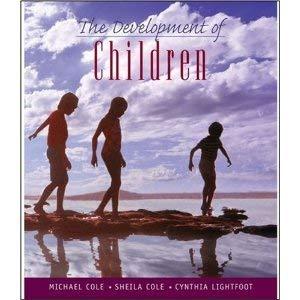 9781429224888: Development of Children, Studyguide & Readings on the Development of Children