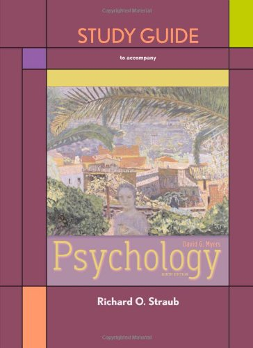 9781429225342: Study Guide for Psychology