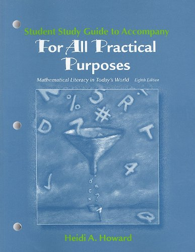 9781429226509: Study Guide for For All Practical Purposes