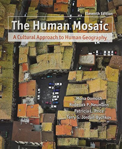 9781429229128: The Human Mosaic: A Cultural Approach to Human Geography (Budget Books)