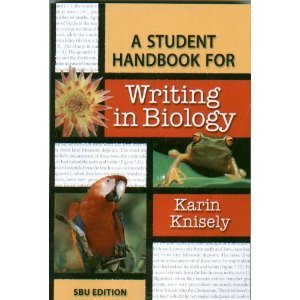 9781429229418: A Student Handbook for Writing in Biology