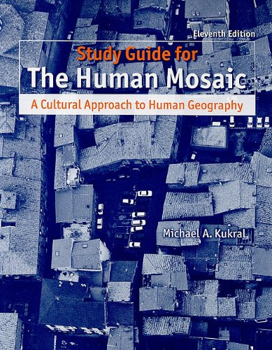 9781429229760: Study Guide for Human Mosaic