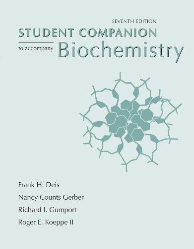 9781429231152: Biochemistry Student Companion, 7th Edition