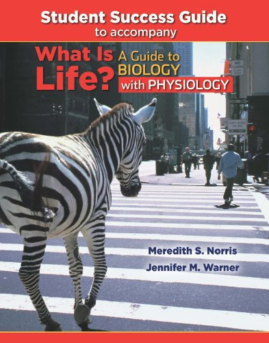 9781429232883: Student Success Guide for What Is Life? A Guide to Biology with Physiology